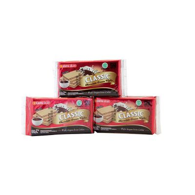 Khong Guan Grand Classic Choco Wafer 18gr / 1 Pack = 10 Pcs