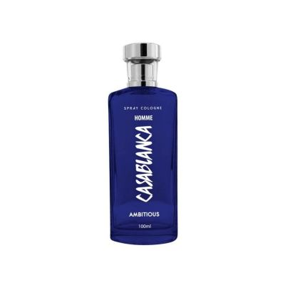 Casablanca Spray Cologne GLASS Homme 100mL Dark Blue AMBITIOUS
