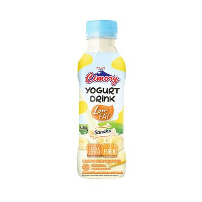 Cimory Yogurt Drink Banana Low Fat 250 mL / 1 Pcs