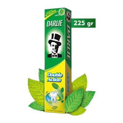 Darlie Double Action 225gr Jumbo / 1 Pcs