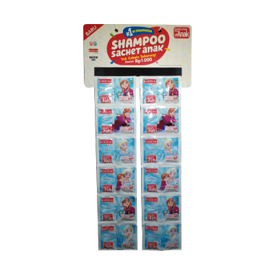 Eskulin Kids Shampo Sachet Frozen (5+5ml) / 2 Rcg = 24 Pcs