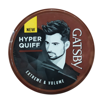 Gatsby Styling Wax Hyper Quiff Extreme & Volume 75gr / 1 Pcs