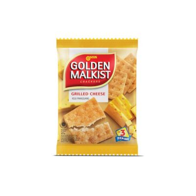 Nissin Golden Malkist 16Gr Grilled Cheese / 1 Renceng = 10 Pcs