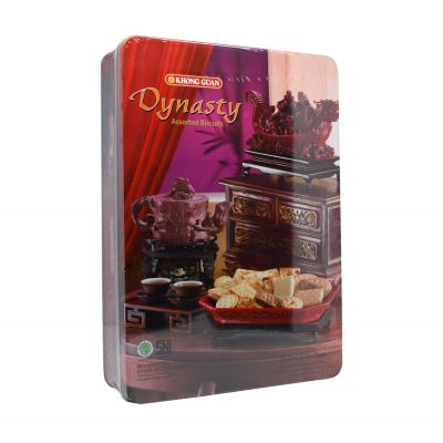 Khong Guan Assorted Biscuit DYNASTY TIN 700Gr / 1 Pcs