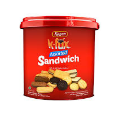 Khong Guan K-Fox Assorted Sandwich 276gr / 3 Pcs
