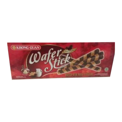 Khong Guan Wafer Stick Box Choco 125gr / 3 Pcs