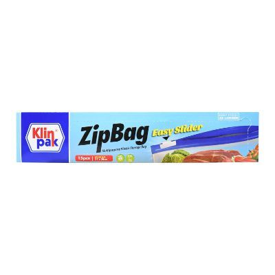 Klinpak Zipbag Easy Slider Medium 27x28 / 1 Pcs