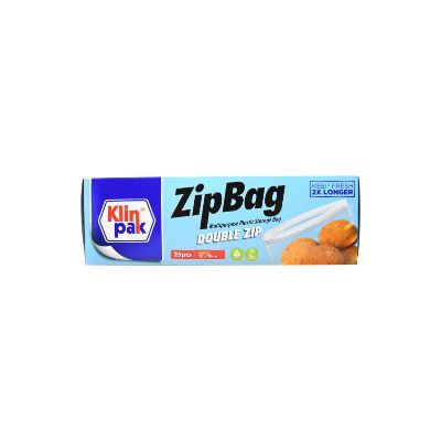 Klinpak Zipbag Double Zip Small 20x28cm / 1 Pcs