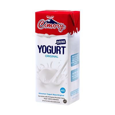 Cimory UHT Yogurt Drink Plain (200ml) / 1 Ctn = 24 Pcs