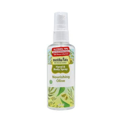 Mustika Ratu Hand & Body Spray 100ml Nourishing Olive / 1 Pcs
