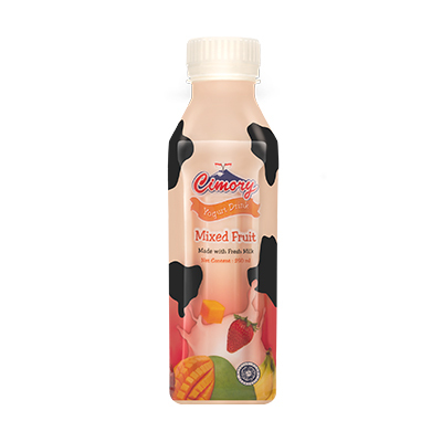 Cimory Yogurt Drink Mix Fruit 250ml / 1 Ctn = 24 Pcs