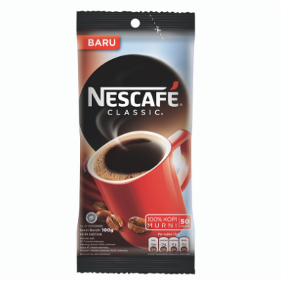 Nescafe Classic Bag Era (24 x 100gr) / 1 Pcs