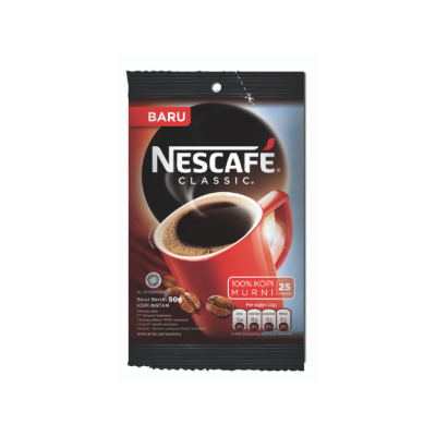 Nescafe Classic Bag Era (24 x 50gr) / 1 Pcs