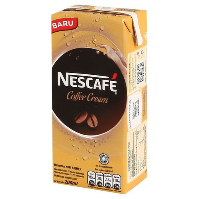 Nescafe UHT Coffee Cream 200ml / 1 Pcs