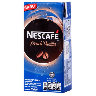 Nescafe UHT French Vanilla 200ml / 1 Pcs