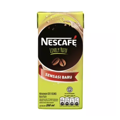 Nescafe Lively Yuzu UHT 200ml / 1 Pcs