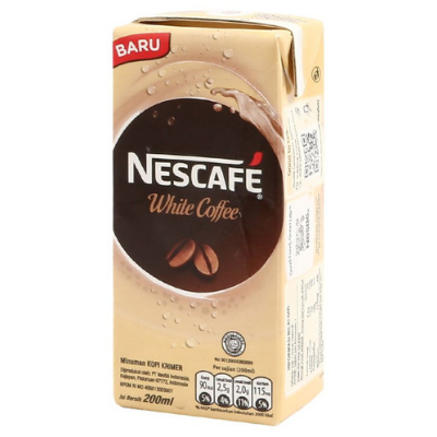 Nescafe UHT White Coffee 200ml / 1 Pcs