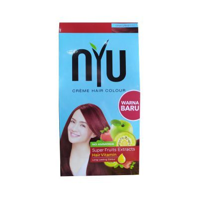 Nyu Creme Hair Color Cherry Red (Small) / 1 Pcs