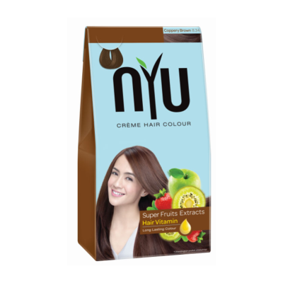 Nyu Creme Hair Color Coppery Brown (Small) / 1 Pcs