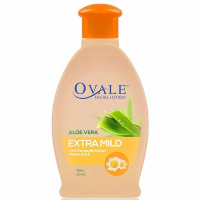 Ovale Facial Lotion Extra Mild 60ml / 1 Pcs