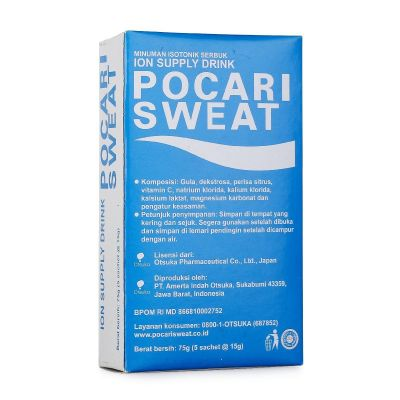Pocari Sweat Sachet Single 100 Box / 5Sachet x 15gr