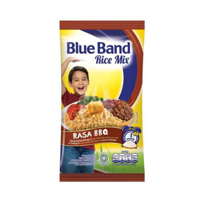 Blue Band Rice Mix Barbeque 45gr / 1 Renceng = 12 Pcs