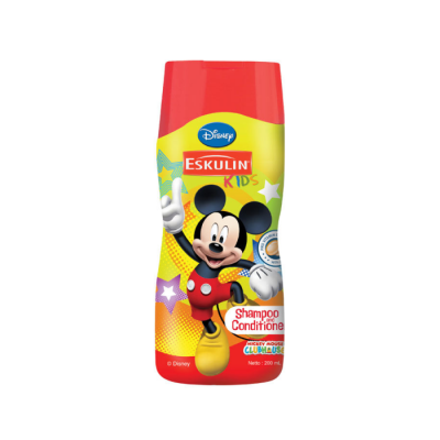 Eskulin Kids Shampoo Mickey Orange 100ml / 1 Pcs