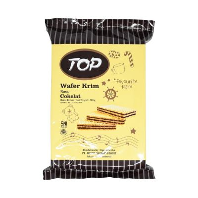 TOP Wafer 300Gr Chocolate / 1 Pcs