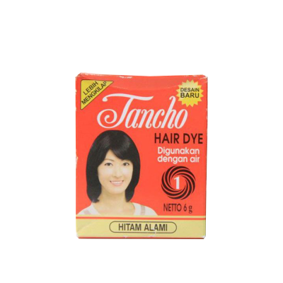 Tancho Hair Dye No.1 6gr / 1 Pcs