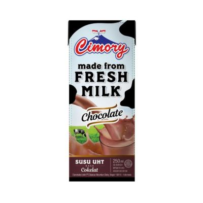Cimory UHT Fresh Milk 250 mL Chocolate / 1 Ctn = 24 Pcs
