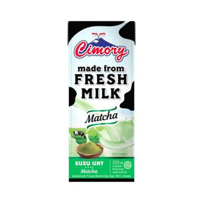 Cimory UHT Fresh Milk 250 mL Matcha / 1 Ctn = 24 Pcs