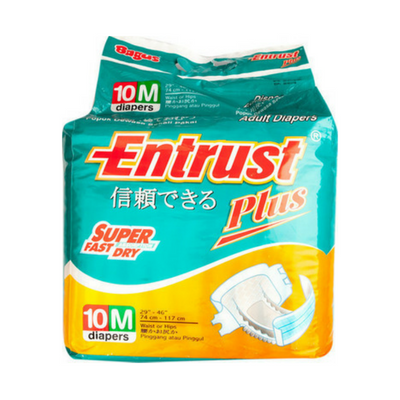 Bagus Entrust Adult Diapers M (isi 10) W-21216 / 3 Pcs