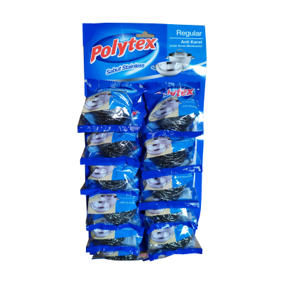 Polytex  Stainless 12.5gr Papan / 12 Pcs